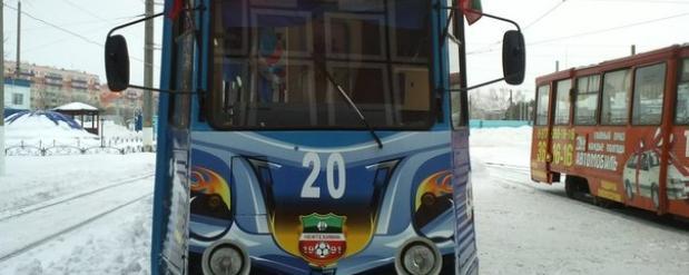 На Рождество в Нижнекамске увеличат число рейсов трамваев