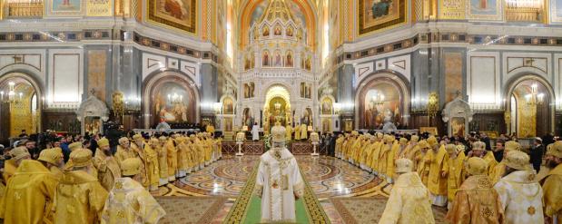 Божественные литургии были проведены в храмах