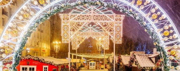 Перед новым годом Нижнекамск стал очень ярким и красочным