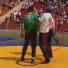 В Нижнекамске на Сабантуе борец куреш пнул судью после боя